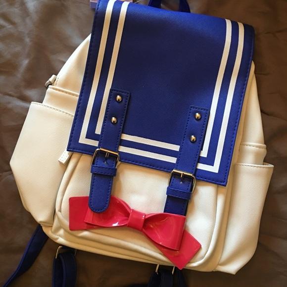 6ffabc79e53290 Hot Topic Bags | Super Cute Sailor Moon Backpack | Poshmark